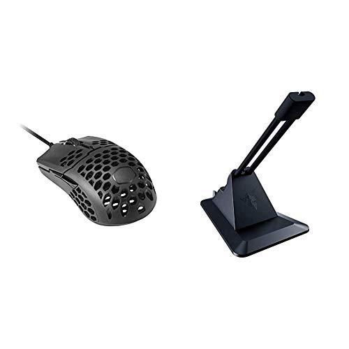 Cooler Master MM710 53G Gaming Mouse & Razer Gaming Mouse Bungee v2: Drag-Free Wired Mouse Support - for Esports-Level Performance - Classic Black (RC21-01210100-R3M1)