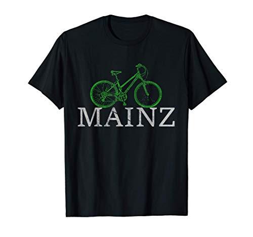 Grüne Mobilität - Nachhaltig mit dem Fahrrad in Mainz T-Shirt