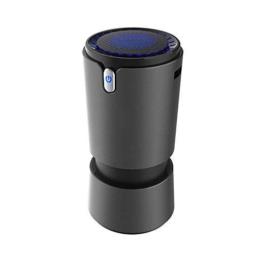 Barir Purificador de Aire, Limpiador de Aire del Coche for el hogar, Limpiador de Aire de Escritorio de diseño Compacto, Super Tranquilo Salas de Extracción de Oficinas, alérgenos, Interfaz USB