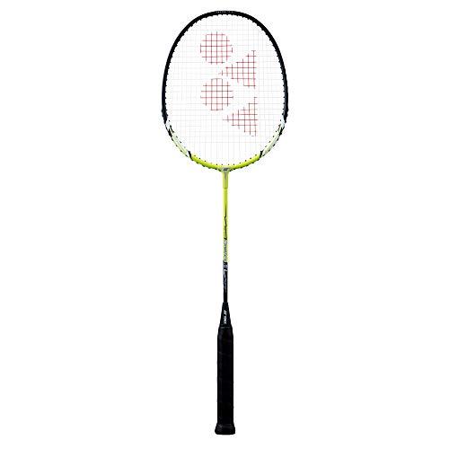 YONEX Muscle Power 2 Badminton Racket/Racquet U/G4 (Lime Green) - Pre-Strung (MP2LMU19S)
