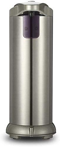 GOHHK Dispensador jabón Mano Dispensadores jabón Sensor sin Contacto Acero Inoxidable Dispensadores jabón loción Impermeables automáticos para Cocina baño