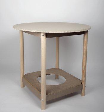 Valenciana del Hogar Mesa Camilla con BRASERO. Redonda. Disponibles en Diferentes tamaños (80 cm diámetro)