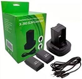 Carregador Duplo - Preto - Xbox 360