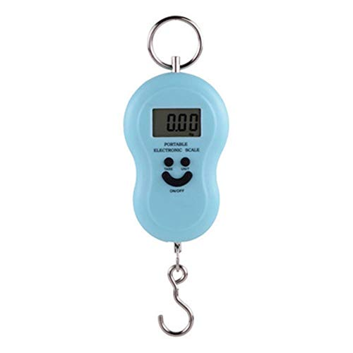 YF Mini Digital Scale Fishing Luggage Travel Weighing Scales Hanging Electronic Hook Scales Portable Weighing Tools (Color : 1ps)