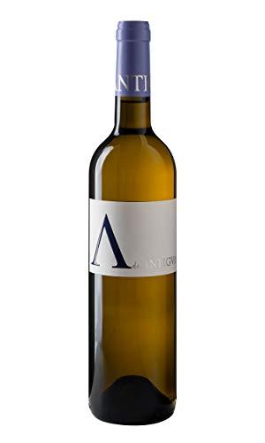 A de ANTIGVA Vino blanco joven Sauvignon Blanc - Vinos de la Tierra de Castilla - La Mancha - 0.75 l