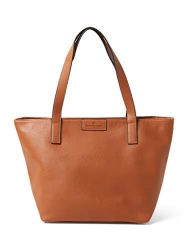 TOM TAILOR Damen Taschen & Geldbörsen Shopper Miri cognac/brandy,OneSize
