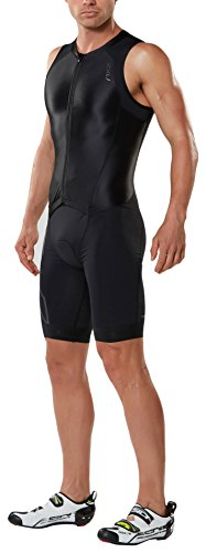2XU heren Compression Full Zip Trisuit pak