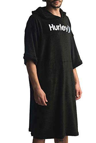 Hurley Herren M ONE&ONLY PONCHO Black, M