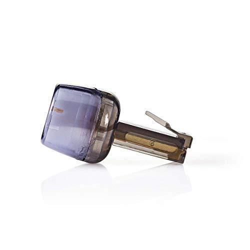 KnnX 28109 | Telefonhörerkabel-Entwirrer | Verhindert EIN Verdrehen des Kabels zwischen Telefonhörer und Telefon | RJ10 (4P4C) | Packung mit 1 Stück