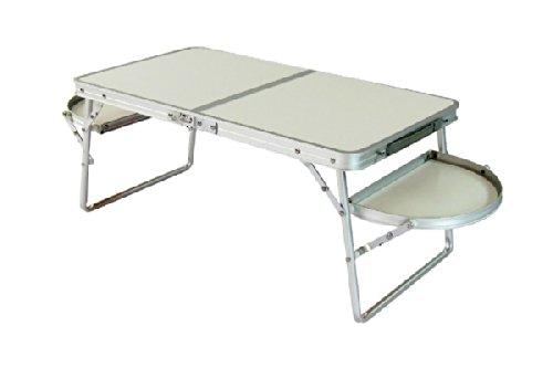 Festcamp ミニウイングテーブル 白い光沢が美しい、軽量で上品な折り畳みテーブル テーブル キャンプ アウ...