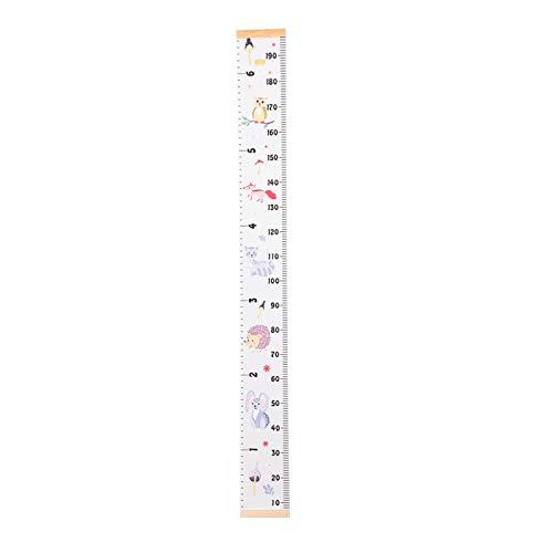 HUMINGG Gráficos de Crecimiento Hogar niño crecimiento grabador de dibujos animados pintura de dibujos animados altura de la varilla pleno montaje en pared etiqueta etiqueta altura regla regla decorac