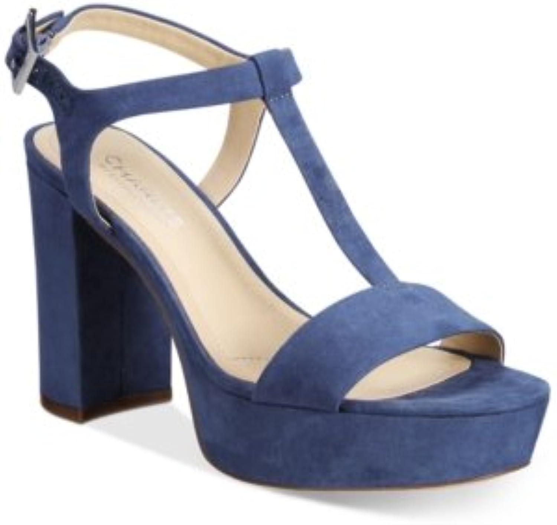 Charles David Charles av Miller T -Strap Platform Platform Platform Sandals Kvinnliga skor  njut av 50% rabatt