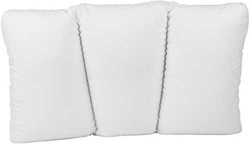 Deluxe Comfort Feels Like Sleeping Contour Cloud Microbeads – Hypoallergenic – Eliminate Aches and Pains – Re Bed-Pillows, Small, White