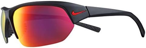 Nike EV1125 006 Skylon Ace Sunglasses Matte Black Frame Color Grey with Infrared Mirror Lens product image