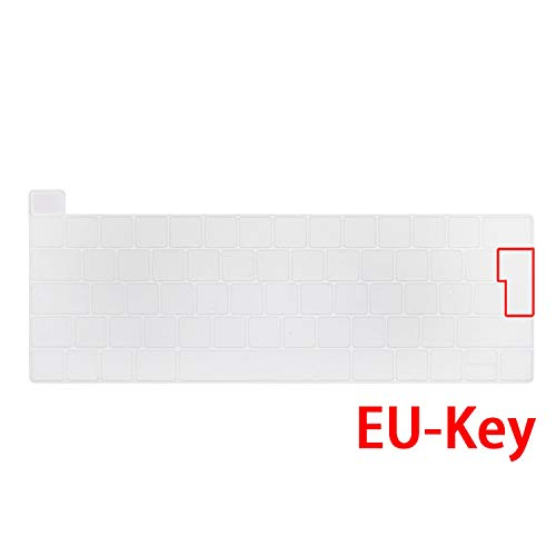 A2141-Eu-Key Clear Protective Cover for Macbook Pro 16 Inch Touch Bar Keyboard with Protective Film