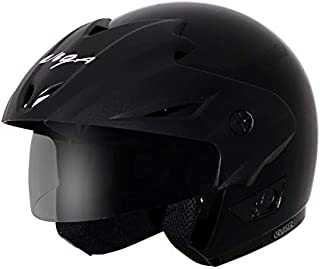 Vega Cruiser CR-W/P-K-M Open Face Helmet (Black, M)