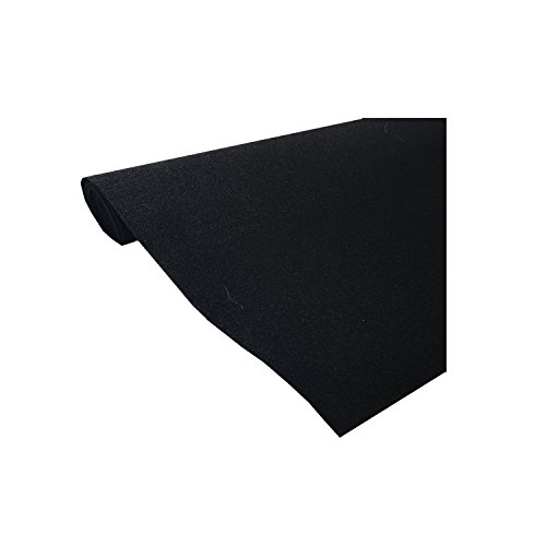 "Marine Upholstery Durable Un-Backed Automotive Trim Carpet 72"" x 36"" Mini Roll"