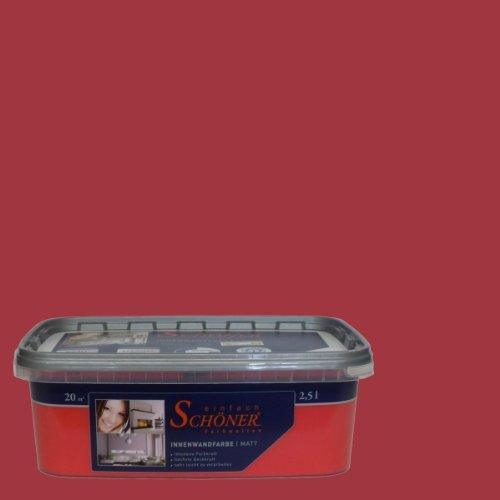 Wilckens Wandfarbe einfach Schöner Farbwelten, 2,5 L, orient rot 13730226080