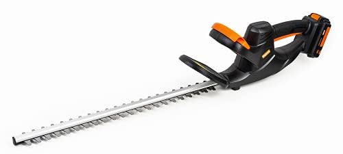 Heywork 20V Cordless Hedge Trimmers Electric Battery Power Bush Trimmer, 22
