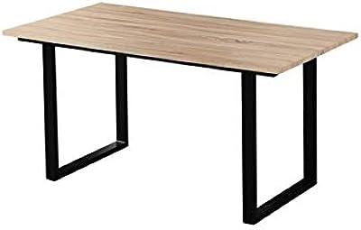 Zons Table Salle À Manger 4 À 6 Personnes, L160xP80xH75 CM