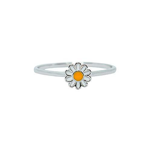 Pura Vida Silver Daisy Ring Size 5 - .925 Sterling Silver Ring