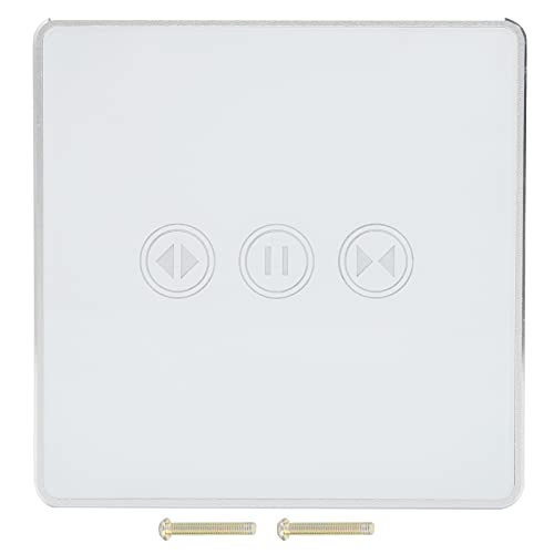 Huairdum Interruptor de luz táctil, Interruptor táctil Interruptor de Control Remoto Interruptor táctil Inteligente Interruptor de luz de Pared para hogar Inteligente para escenas Inteligentes