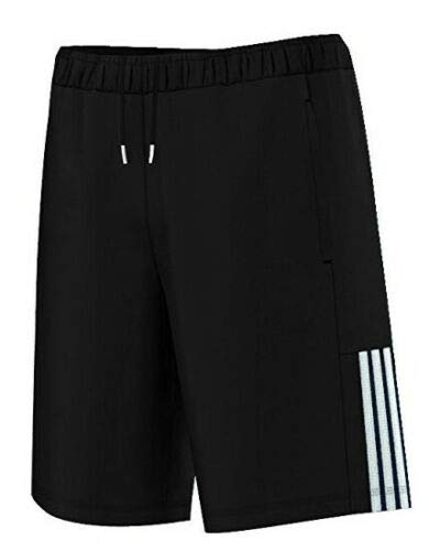 EDGE 99 Herren-Shorts, Baumwoll-Jersey, kurze Sporthose, Jogging-Shorts für Männer, Sweat-Jogger-Shorts Gr. XL, Schwarz