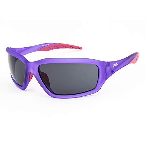 FILA Herren Sf-202-c6 Sonnenbrille, Matt Purple-Pink/Grey, 63/18/125