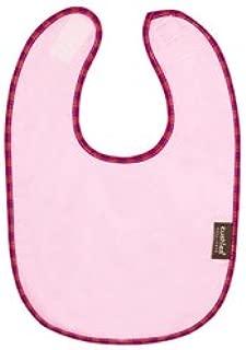 Kushies Taffeta Terry Reversible Waterproof Bib - Pink
