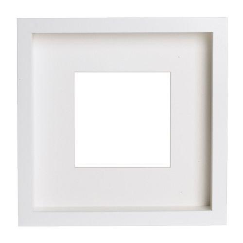 RIBBA/フレーム/ホワイト(サイズ23×23×4.5cm)[イケア]IKEA(60207309)