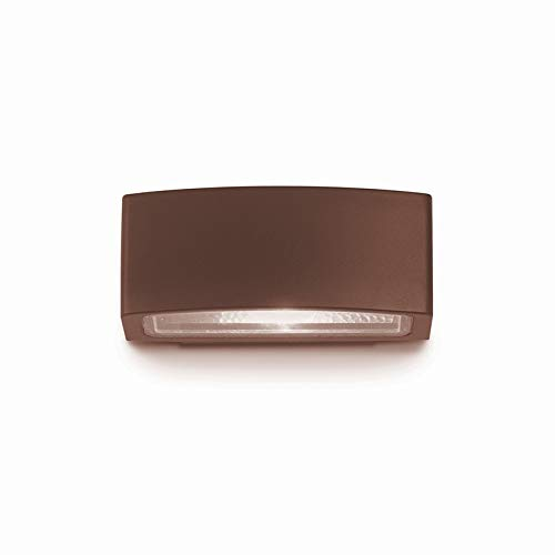 Ideal Lux Andromeda AP1 - Aplique de pared LED E27 exterior IP55 - Coffee