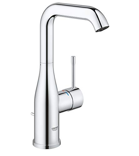 Grohe 2348600A Essence L-Size Bathroom Faucet with Swivel Spout, StarLight Chrome