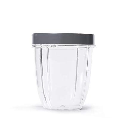 NutriBullet-Kurzer-Becher-mit-Standard-Lippenring-510-ml-transparentgrau