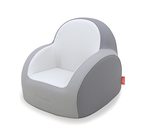 Dwinguler - Kids Sofa - Dove Grey - Kinder Sofa - Kindersitz