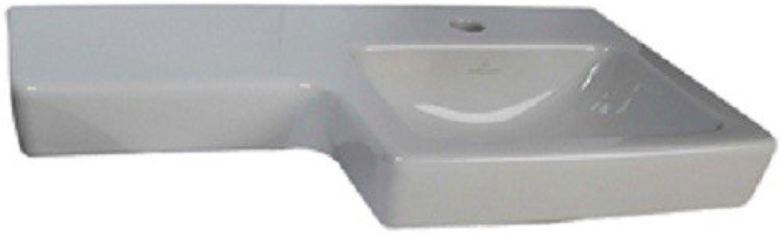 Villeroy & Boch Waschtisch Subway2.0 41156R 630x355mm Hl. durchgest ohne überlauf wei, 41156R01