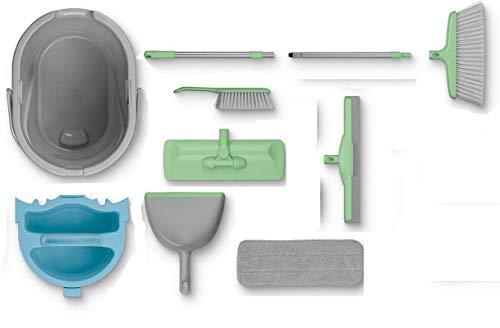 AquaPur Kit de nettoyage avec organiseur 8 pièces
