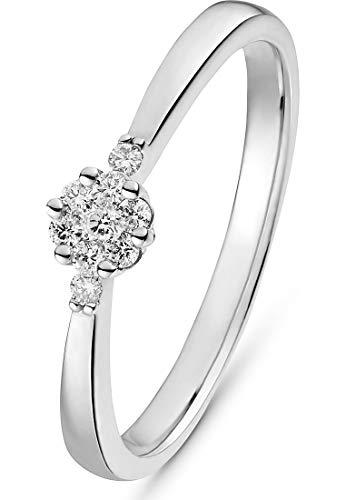 CHRIST Diamonds Damen 585er Gelbgold 7 Diamant 50 Weißgold 32013433