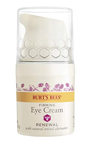 Burt's Bees Renewal Firming Eye Cream with Bakuchiol Natural Retinol Alternative, 0.5 Oz (Package May Vary)