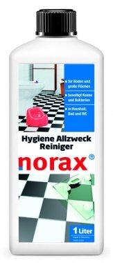 norax Hygiene Allzweckreiniger 1l - Entfernt Verschmutzungen, Bakterien, Keime, Krankheitserreger und Viren