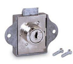 Hudson Lock XW2833-SB Spring Bolt Lock