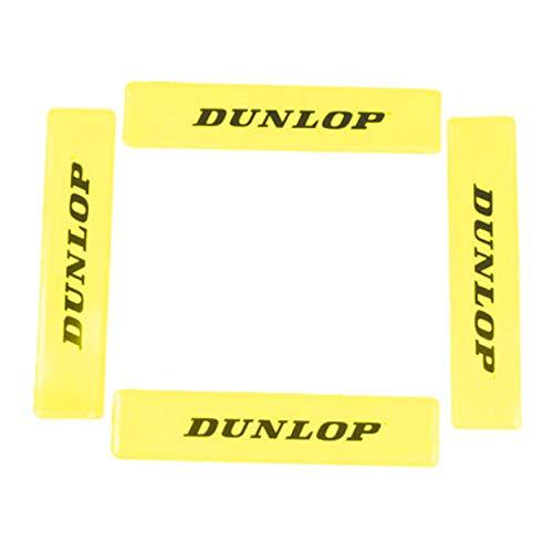 Dunlop Unisex-Adult 622224 Training Markierungslinien 12 Stück gelb, One Size