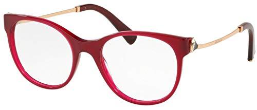 Bulgari 0BV 4160B 5333 51 Gafas de sol, Rojo (Red), Unisex Adulto