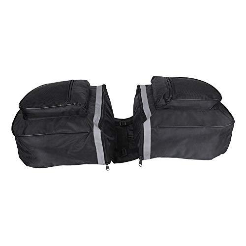 Jeffergarden, waterdichte mountainroad fietsendrager achterbank bagagedrager dubbele koffer Cargo Trunk Bag