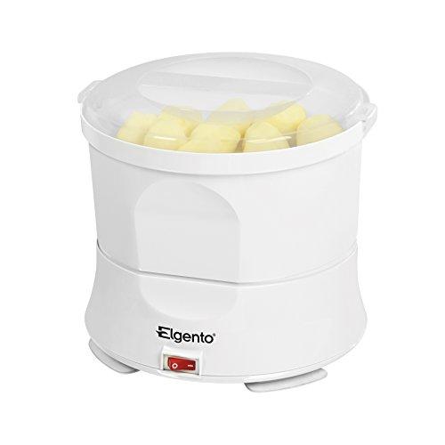 Elgento elektrischer Kartoffelschäler und Salatschleuder