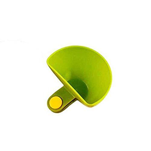 Gancunsh - Confezione da 1 contenitore in plastica per condimento, insalata, pomodoro, pasta di salsa Verde