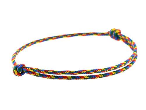 KOMIMAR dezentes Surfer Armband JAMAIKA - Strand Schmuck - lässig - Surfstyle - Fußband - Armreif - Freundschaftsarmband - Nautische Armbänder - Herren Armband - Damen Armband - Kinder Armband
