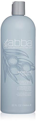 ABBA Moisture Shampoo, Olive Butter & Peppermint Oil, 32 Fl Oz
