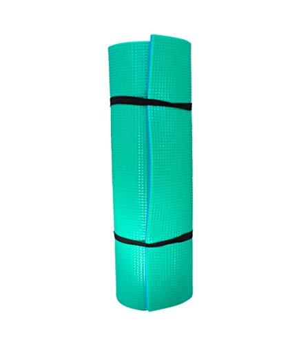 Grupo K-2 Wonduu Esterilla Yoga Antideslizante Cochoneta Fitness Azul Y Verde