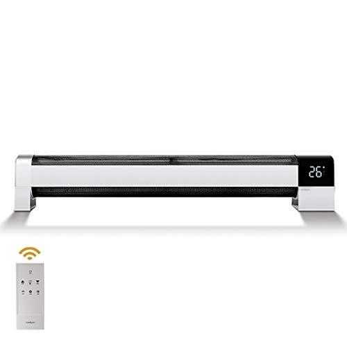 Radiador Eléctrico calefactorPotencia de dos velocidades (1400 / 2200W),Perfil bajo Heater -Termoventilador...