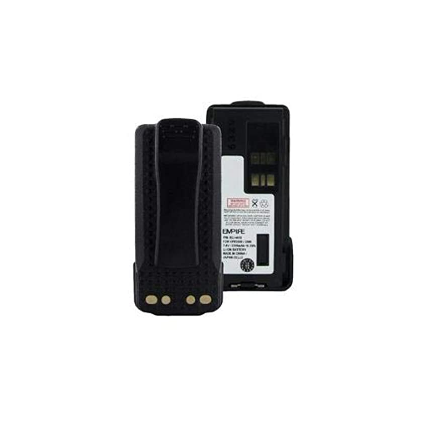 Motorola DP2600 2-Way Radio Battery (Li-Ion 7.4V 2200mAh) Rechargeable Battery - Replacement for Motorola PMLN4418 Battery